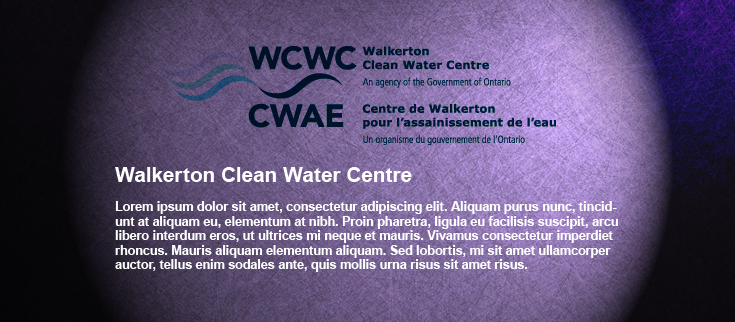 Walkerton Clean Water Center