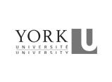 York Université/University with logo